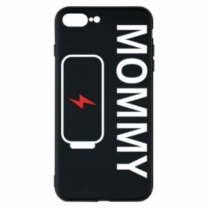 Phone case for iPhone 7 Plus Mommy charge - PrintSalon