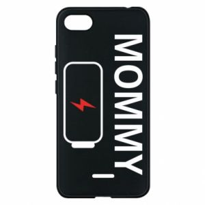 Phone case for Xiaomi Redmi 6A Mommy charge - PrintSalon