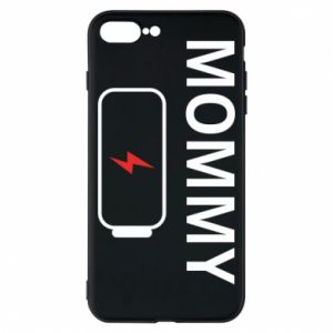 Phone case for iPhone 8 Plus Mommy charge - PrintSalon