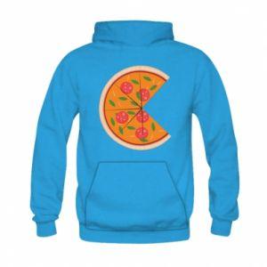 Bluza z kapturem dziecięca Mommy pizza