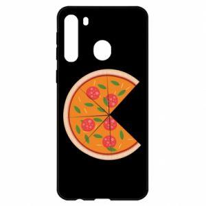 Etui na Samsung A21 Mommy pizza
