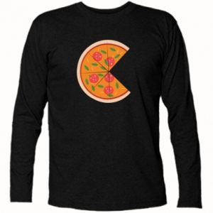 Long Sleeve T-shirt Mommy pizza - PrintSalon