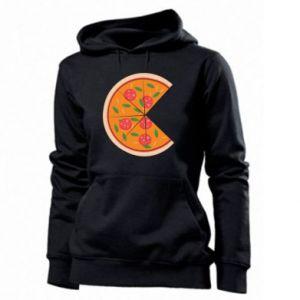Women's hoodies Mommy pizza - PrintSalon