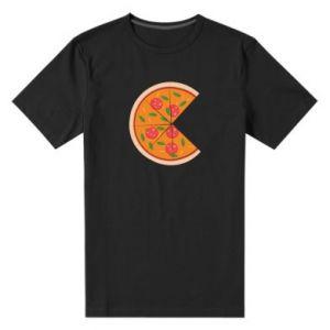 Men's premium t-shirt Mommy pizza - PrintSalon