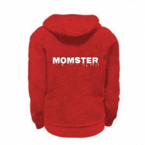 Bluza na zamek dziecięca Momster