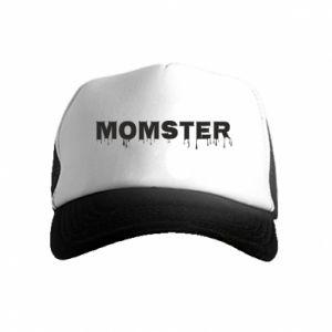 Czapka trucker dziecięca Momster