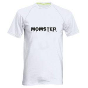 Męska koszulka sportowa Momster