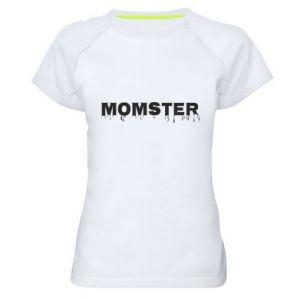 Damska koszulka sportowa Momster