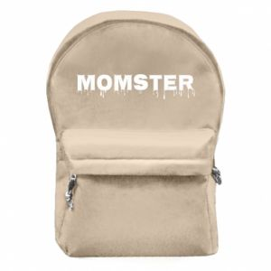 Plecak z przednią kieszenią Momster