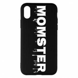 Etui na iPhone X/Xs Momster