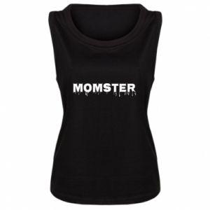 Damska koszulka bez rękawów Momster