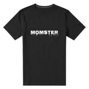 Męska premium koszulka Momster