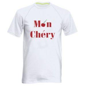 Męska koszulka sportowa Mon chery