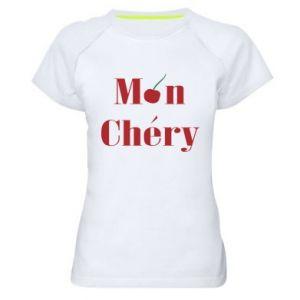 Damska koszulka sportowa Mon chery