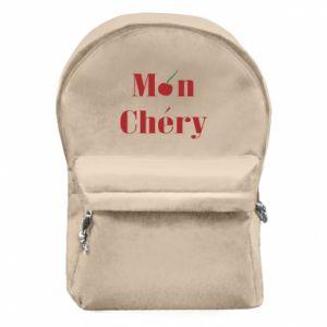 Plecak z przednią kieszenią Mon chery