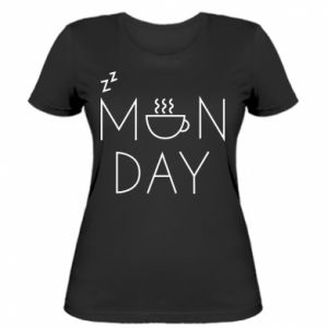 Women's t-shirt Monday