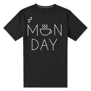 Męska premium koszulka Monday