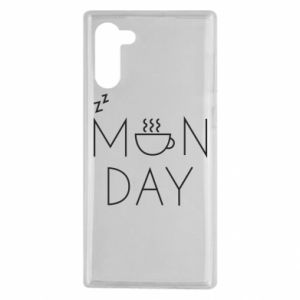 Samsung Note 10 Case Monday