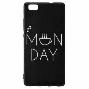 Huawei P8 Lite Case Monday