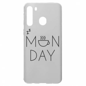 Samsung A21 Case Monday
