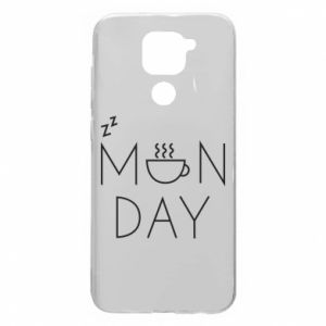 Xiaomi Redmi Note 9 / Redmi 10X case % print% Monday