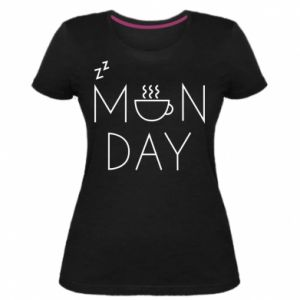 Damska premium koszulka Monday