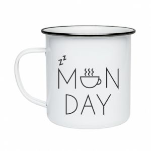 Enameled mug Monday