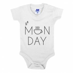 Baby bodysuit Monday