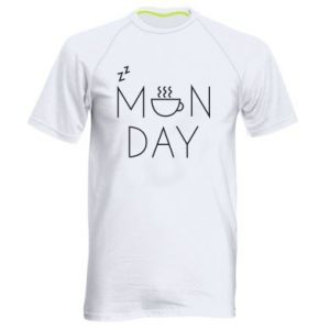 Men's sports t-shirt Monday