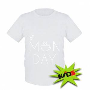 Kids T-shirt Monday