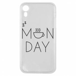 iPhone XR Case Monday