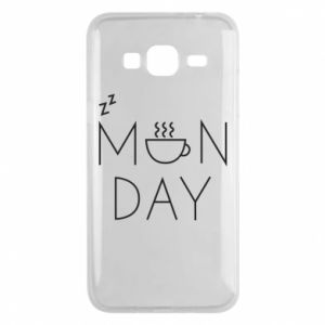 Samsung J3 2016 Case Monday