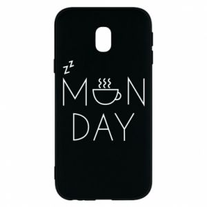 Samsung J3 2017 Case Monday