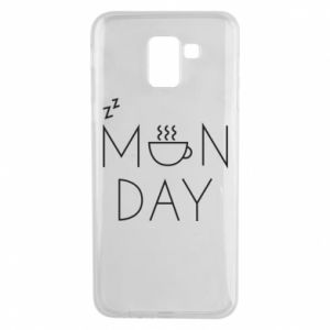 Samsung J6 Case Monday