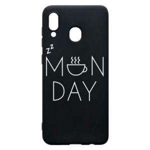 Samsung A30 Case Monday