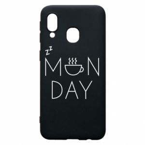 Samsung A40 Case Monday