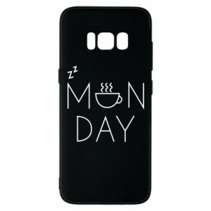 Samsung S8 Case Monday