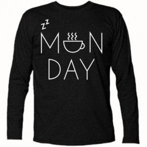 Koszulka z długim rękawem Monday