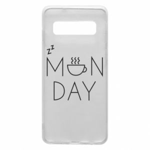 Samsung S10 Case Monday