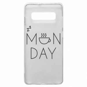 Samsung S10+ Case Monday
