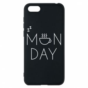 Huawei Y5 2018 Case Monday