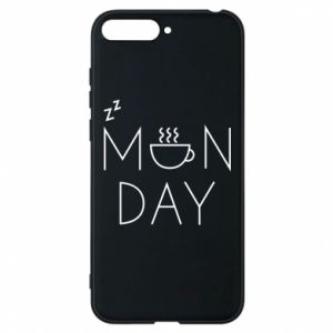 Huawei Y6 2018 Case Monday