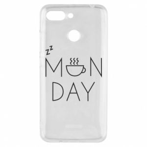 Xiaomi Redmi 6 Case Monday