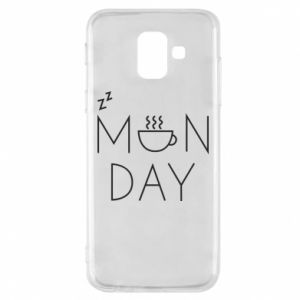 Samsung A6 2018 Case Monday