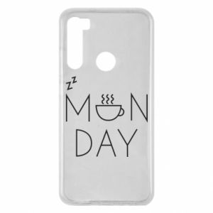 Xiaomi Redmi Note 8 Case Monday
