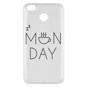 Xiaomi Redmi 4X Case Monday