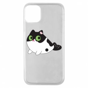 Etui na iPhone 11 Pro Monochrome mermaid cat
