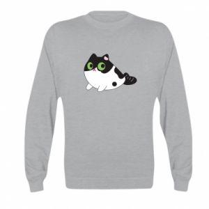 Bluza dziecięca Monochrome mermaid cat
