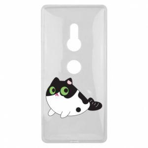Etui na Sony Xperia XZ2 Monochrome mermaid cat