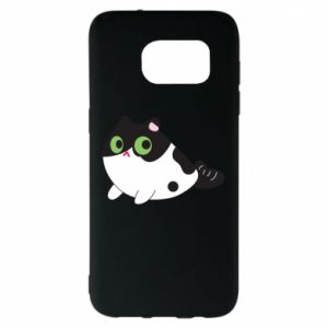 Etui na Samsung S7 EDGE Monochrome mermaid cat